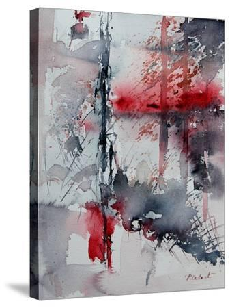 Watercolor 211006-Pol Ledent-Stretched Canvas Print