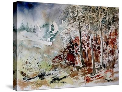 Watercolor 200307-Pol Ledent-Stretched Canvas Print