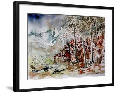 Watercolor 200307-Pol Ledent-Framed Art Print