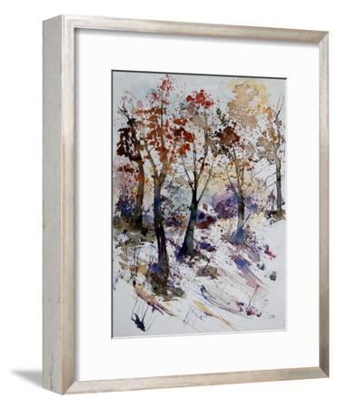 Watercolor 201206-Pol Ledent-Framed Art Print