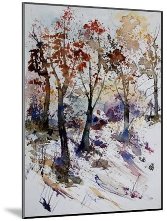 Watercolor 201206-Pol Ledent-Mounted Art Print