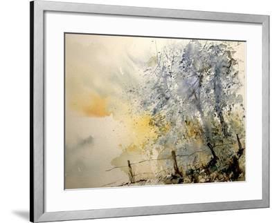 Watercolor 240505-Pol Ledent-Framed Art Print