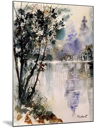 Watercolor 231203-Pol Ledent-Mounted Art Print
