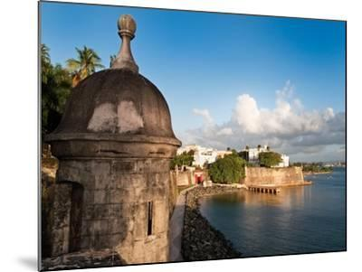 City Walls, Old San Juan, Puerto Rico-George Oze-Mounted Photographic Print