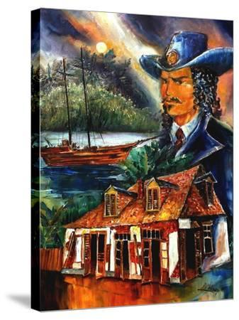 The Legend Of Jean Lafitte-Diane Millsap-Stretched Canvas Print