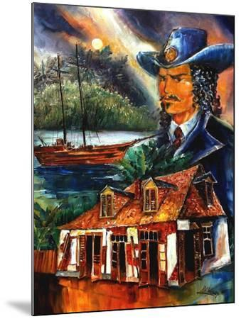 The Legend Of Jean Lafitte-Diane Millsap-Mounted Art Print