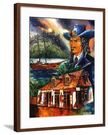The Legend Of Jean Lafitte-Diane Millsap-Framed Art Print