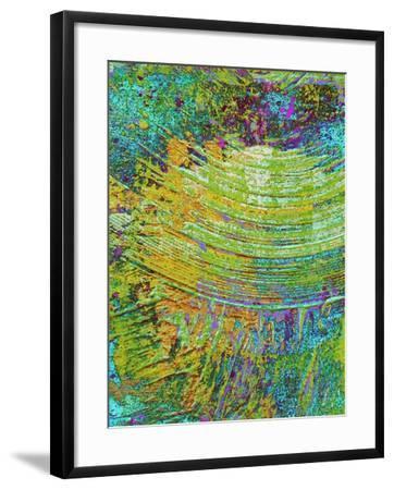 Abstract Ripple I-Ricki Mountain-Framed Art Print