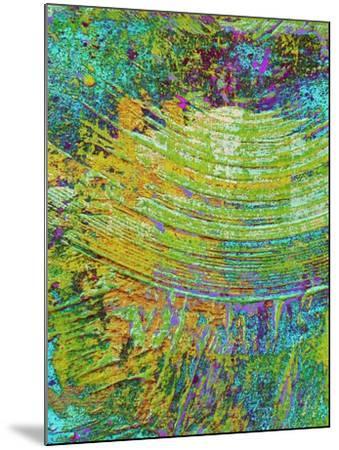 Abstract Ripple I-Ricki Mountain-Mounted Art Print
