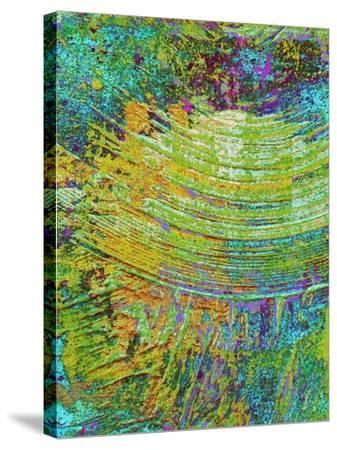 Abstract Ripple I-Ricki Mountain-Stretched Canvas Print