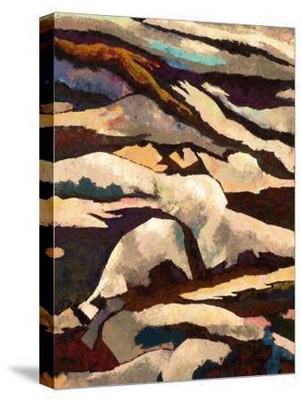 Mountain-Hyunah Kim-Stretched Canvas Print