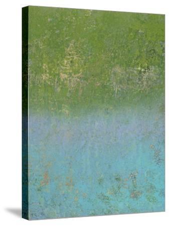 Shang ra  la de da-Ricki Mountain-Stretched Canvas Print
