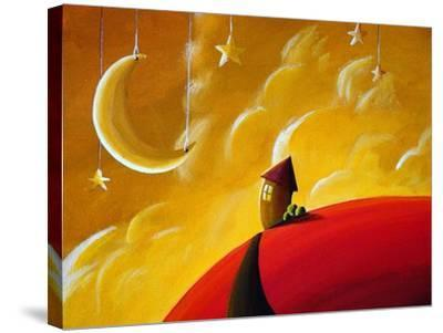 Goodnight Moon-Cindy Thornton-Stretched Canvas Print