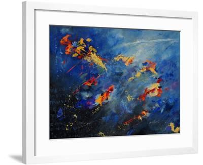 Abstract 971207-Pol Ledent-Framed Art Print