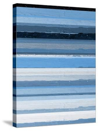 Blue Scapes II-Ricki Mountain-Stretched Canvas Print