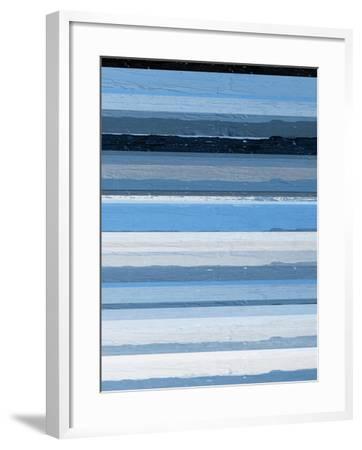 Blue Scapes II-Ricki Mountain-Framed Art Print