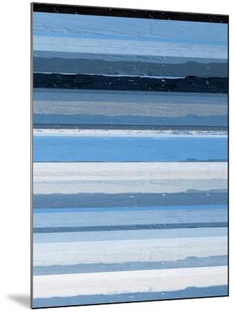 Blue Scapes II-Ricki Mountain-Mounted Art Print