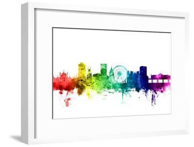 Brighton England Skyline-Michael Tompsett-Framed Photographic Print
