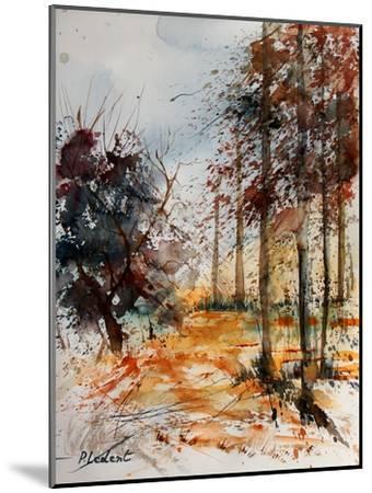 Watercolor 040902-Pol Ledent-Mounted Art Print