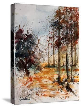 Watercolor 040902-Pol Ledent-Stretched Canvas Print