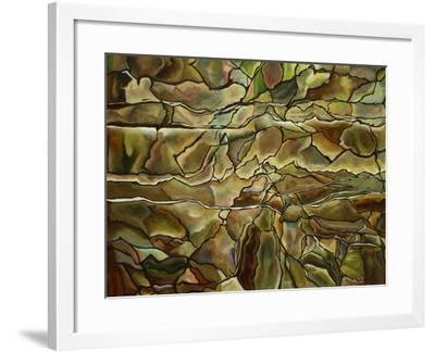 Rocky Realm-Hyunah Kim-Framed Art Print