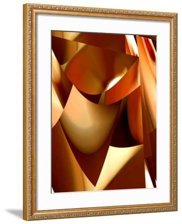 Bathed In Red-Ruth Palmer-Framed Art Print