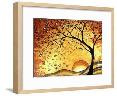 Dreaming in Gold-Megan Aroon Duncanson-Framed Art Print