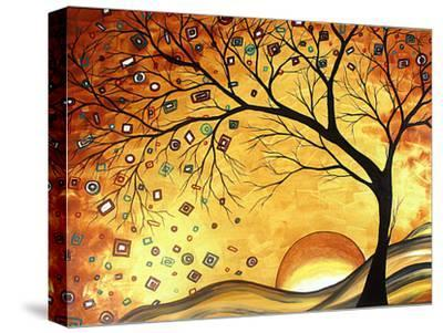 Dreaming in Gold-Megan Aroon Duncanson-Stretched Canvas Print