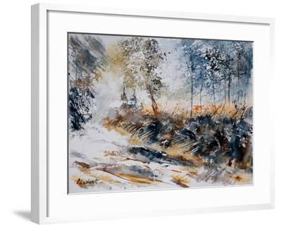 Watercolor 080207-Pol Ledent-Framed Art Print