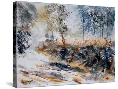 Watercolor 080207-Pol Ledent-Stretched Canvas Print