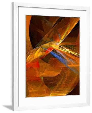 When Paths Cross-Ruth Palmer-Framed Art Print
