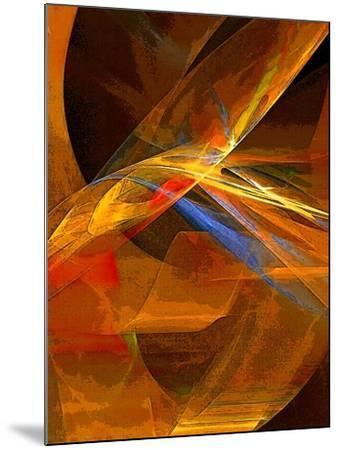 When Paths Cross-Ruth Palmer-Mounted Art Print
