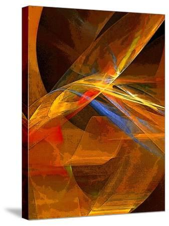 When Paths Cross-Ruth Palmer-Stretched Canvas Print