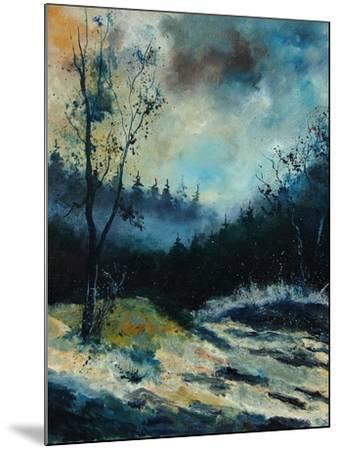 Misty Morning-Pol Ledent-Mounted Art Print