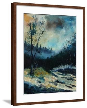 Misty Morning-Pol Ledent-Framed Art Print