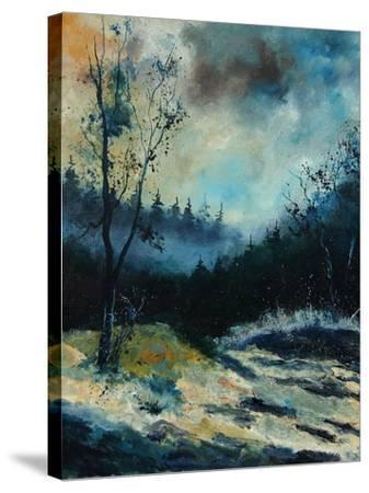 Misty Morning-Pol Ledent-Stretched Canvas Print