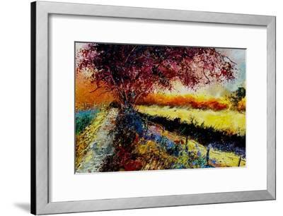 Fall In Gendron 2-Pol Ledent-Framed Art Print