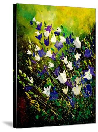 Campanulas 56-Pol Ledent-Stretched Canvas Print