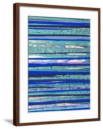 Space Aligned-Ricki Mountain-Framed Art Print