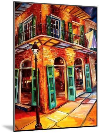 New Orleans Jazz Corner-Diane Millsap-Mounted Art Print