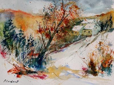Watercolor 908002-Pol Ledent-Framed Art Print