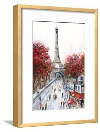 Paris Fall-Marilyn Dunlap-Framed Art Print