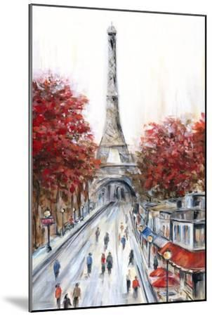 Paris Fall-Marilyn Dunlap-Mounted Art Print