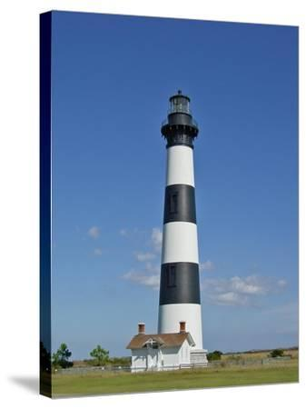 Light House on Bodie Island-Martina Bleichner-Stretched Canvas Print