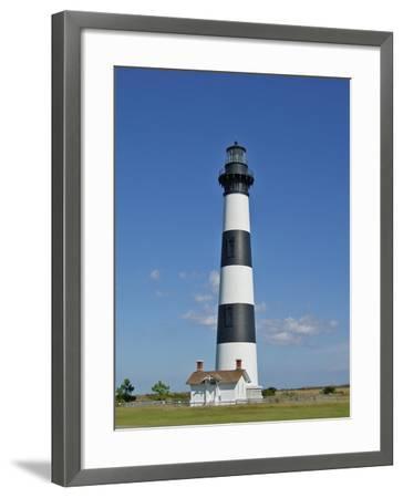 Light House on Bodie Island-Martina Bleichner-Framed Art Print