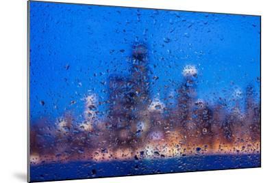 Rainy Chicago Lakefront Blues-Steve Gadomski-Mounted Photographic Print