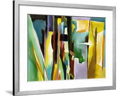 Abstract Variation-Hyunah Kim-Framed Art Print
