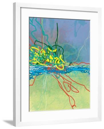Colliding-Jan Weiss-Framed Art Print