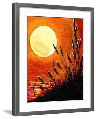 Bayou Moon-Cindy Thornton-Framed Art Print