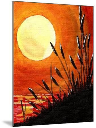 Bayou Moon-Cindy Thornton-Mounted Art Print